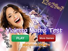 Violetta Math Test
