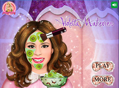 Violetta Real Makeup