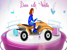 Violetta With ATV