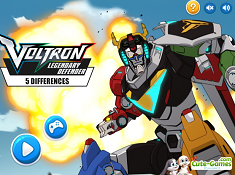 Voltron Legendary Defender 5 Differences