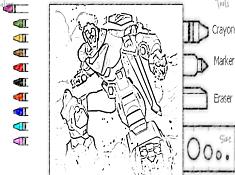 Voltron Legendary Defender Coloring