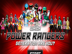 Which Power Rangers Generation Are You