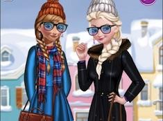 Winter Fashion Street Snap