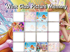 Winx Club Picture Memory