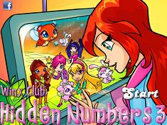 Winx Clubb Hidden Numbers 3