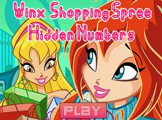 Winx Shopping Spree Hidden Numbers