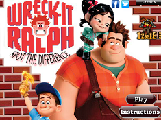 Wreck It Ralph Spot The Difference