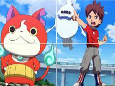 Yo-Kai Watch Sliding Puzzle