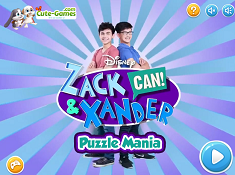 Zack and Xander Can Puzzle Mania
