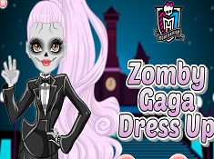 Zomby Gaga Dress Up
