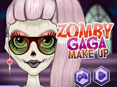 Zomby Gaga Make Up